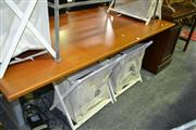 Sale 8093 - Lot 1078 - Timber Adjustable Desk