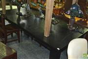 Sale 8380 - Lot 1085 - Modern Black Dining Table