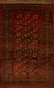 Sale 8439C - Lot 11 - Persian Turkman 244cm x 150cm