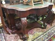 Sale 8495F - Lot 1033 - Serpentine Front Hall Table