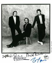Sale 8635A - Lot 5042 - Phil Collins, Mike Rutherford & Tony Banks
