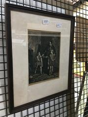 Sale 8730 - Lot 2085 - Framed Walter S. Stacey Book Plate 1882