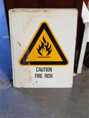 Sale 8782 - Lot 1752 - Collection of Hazard Signs