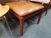 Sale 8872 - Lot 1026 - Nathan Teak Square Coffee Table