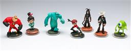 Sale 9164 - Lot 128 - A Collection of Disney Figurines (H:10cm)
