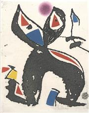 Sale 8794A - Lot 5014 - Joan Miró (1893 - 1983) - Untitled, 1976 28 x 22.5cm