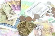 Sale 8477 - Lot 19 - Australian Money Notes Together with Coins inc Pennies, Florins and Shilling