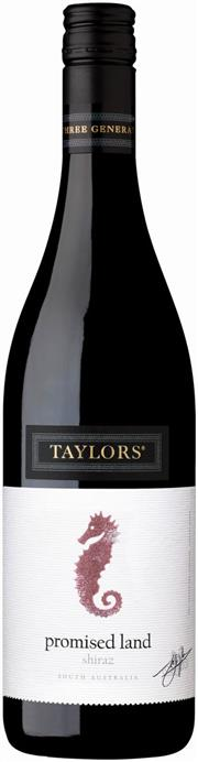 Sale 8528W - Lot 190 - 6x 2015 Taylors The Promised Land Shiraz. A soft and fleshy Shiraz boasting a lively palate of juicy red berry fruits, plum and...