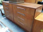 Sale 8566 - Lot 1067 - G-Plan Teak Eight Drawer Chest