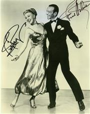 Sale 8635A - Lot 5023 - Ginger Rogers & Fred Astaire