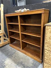 Sale 8901F - Lot 1008 - Timber Open Bookcase