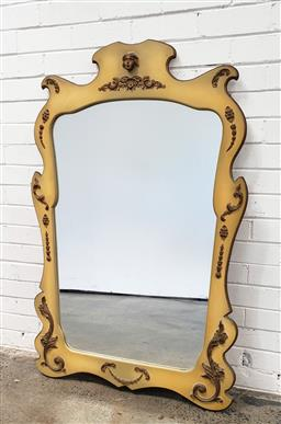 Sale 9102 - Lot 1134 - Wall mount console with mirror (h:133 x w:82cm)