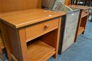 Sale 8013 - Lot 1215 - Pair of Bedside cabinets