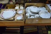 Sale 8530 - Lot 2360 - 2 Dinner Services & 1 Coffee Service