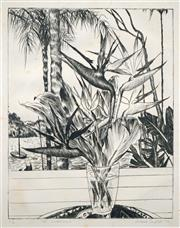 Sale 8558 - Lot 518 - Cressida Campbell (1960 - ) - At Claireville, 1978 30.5 x 24cm