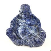 Sale 8562R - Lot 28 - Blue Stone Buddha Carving (H: 10cm)