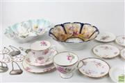 Sale 8586 - Lot 216 - Royal Albert Cups And Saucers Together With German Bowls