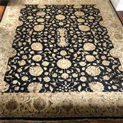 Sale 9031H - Lot 58 - Handwoven Wool and Silk Persian Carpet, 240 x 300 cm -