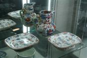 Sale 7877 - Lot 14 - English Imari Pair of Tazzas & an Imari Jug