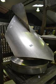 Sale 8093 - Lot 1072 - Stainless Steel Chimney Cow