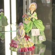Sale 8236 - Lot 1 - Royal Doulton Figures Cissie HN 1808 anChloe M29