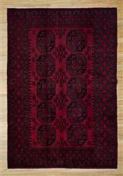 Sale 8566C - Lot 40 - Afghan Turkman 232cm x 150cm