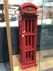 Sale 8697 - Lot 1630 - Reproduction Phone Booth CD Holder