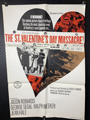 Sale 9003P - Lot 7 - Vintage Movie Poster - The St. Valentines Day Massacre (H: 100cm x W: 68cm)