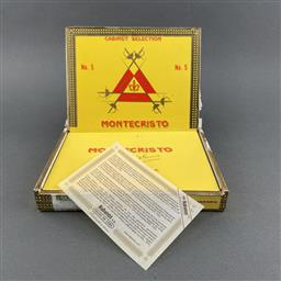 Sale 9142W - Lot 1015 - Montecristo No. 5 Cuban Cigars - box of 10, dated September 2015
