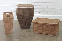 Sale 9183 - Lot 1079 - Collection of woven baskets