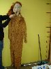 Sale 7490 - Lot 49 - 1 LION COSTUME WITH MITTENS & 2 RUBBER MASKS