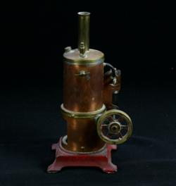 Sale 7907 - Lot 41 - Renown Brass Donkey Engine (Height - 23cm)
