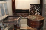 Sale 8304 - Lot 34 - Oriental 19th Century Inlaid Pen & Ink Stand