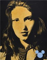 Sale 8381A - Lot 61 - Roderick Bunter (1970 - ) - Claire 75...(Just When Youre Thinking Things Over), 2004 122 x 91.5cm