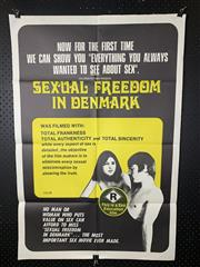 Sale 9003P - Lot 8 - Vintage Movie Poster - Sexual Freedom in Denmark (H: 100cm x W: 68cm)