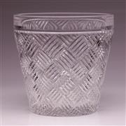 Sale 9081 - Lot 34 - Marquis by Waterford Crystal Versa Ice Bucket (H:18cm Dia:18cm)