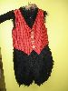 Sale 7490 - Lot 50 - 1 BLACK FUR DUCK BODY WITH CHECK VEST