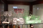 Sale 7989 - Lot 96 - Green Glass Depression Glass with Other Glass Wares incl Bohemian Wines
