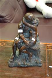 Sale 8129 - Lot 1063 - Bronze Style Figure of Lovers