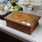 Sale 8236 - Lot 65 - Burr Timber Box