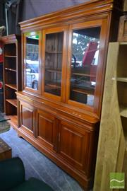 Sale 8550 - Lot 1309 - Modern Bookcase over Sideboard