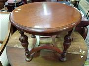 Sale 8629 - Lot 1099 - Victorian Walnut Occasional Table
