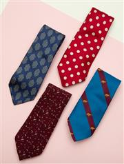 Sale 8661F - Lot 17 - Four mens ties to include Pierre Cardin, Henry Grethel, Atlea, Milano and the tie shop