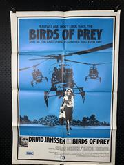 Sale 9003P - Lot 9 - Vintage Movie Poster - Birds of Prey (H: 100cm x W: 68cm)