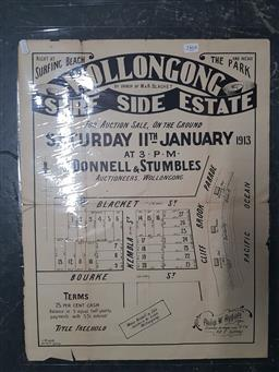 Sale 9152 - Lot 2464 - Land Sale Poster Wollongong Surf Side Estate Saturday 11th January