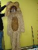 Sale 7490 - Lot 51 - 1 FUR LION SUIT WITH MITTENS & FULL HEAD