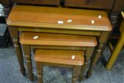 Sale 8093 - Lot 1025 - Nest of 3 Side Tables