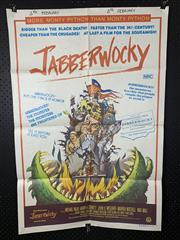Sale 9003P - Lot 10 - Vintage Movie Poster - Jabberwocky (H: 100cm x W: 68cm)