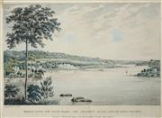 Sale 8484 - Lot 572 - Joseph Lycett (1775 - 1828) - Kissing Point New South Wales - The Property of the Late Mr James Squires 17.5 x 27.5cm