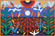 Sale 8592A - Lot 5024 - John Coburn (1925 - 2006) - Tree of Life, 1988 48 x 72cm